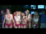 Sexy South Beach girls join a wet t shirt contest