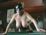 In this private clip babe sucks and owns member